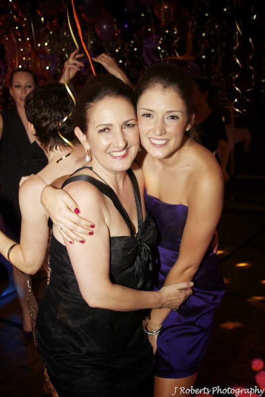 Mother and daughter dancing - party photography sydney