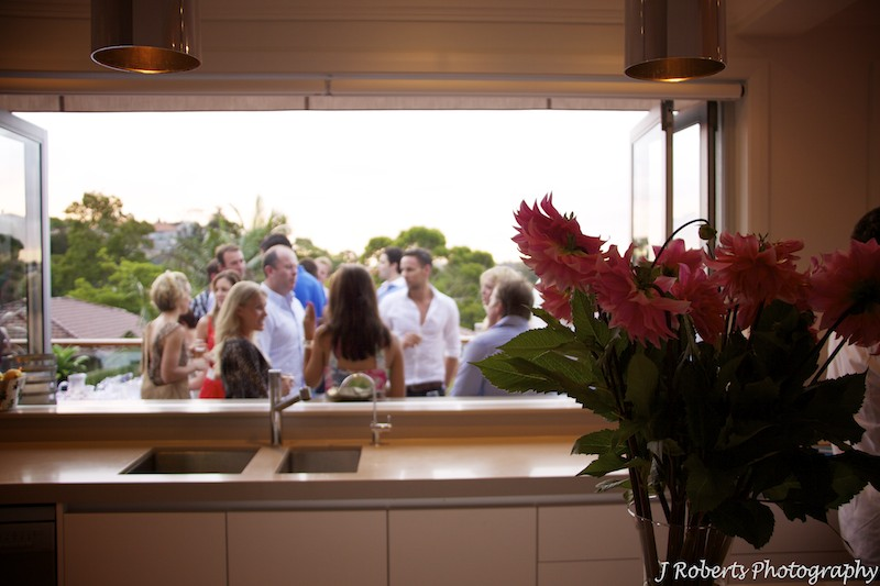 Casual summer party setting - party photography sydney