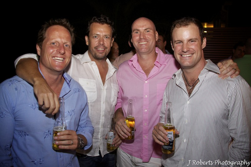 Good mates - party photography sydney
