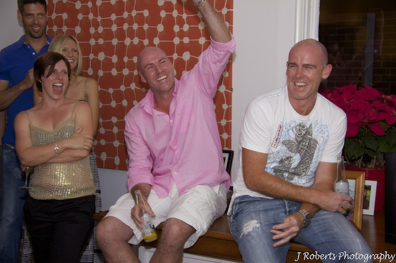 appreciating speeches - party photography Sydney