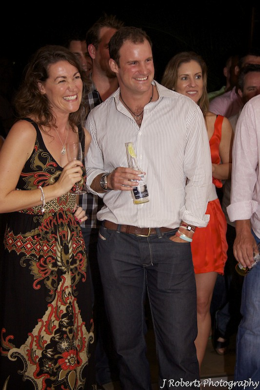Andrew and Ruth Strauss - party photography sydney