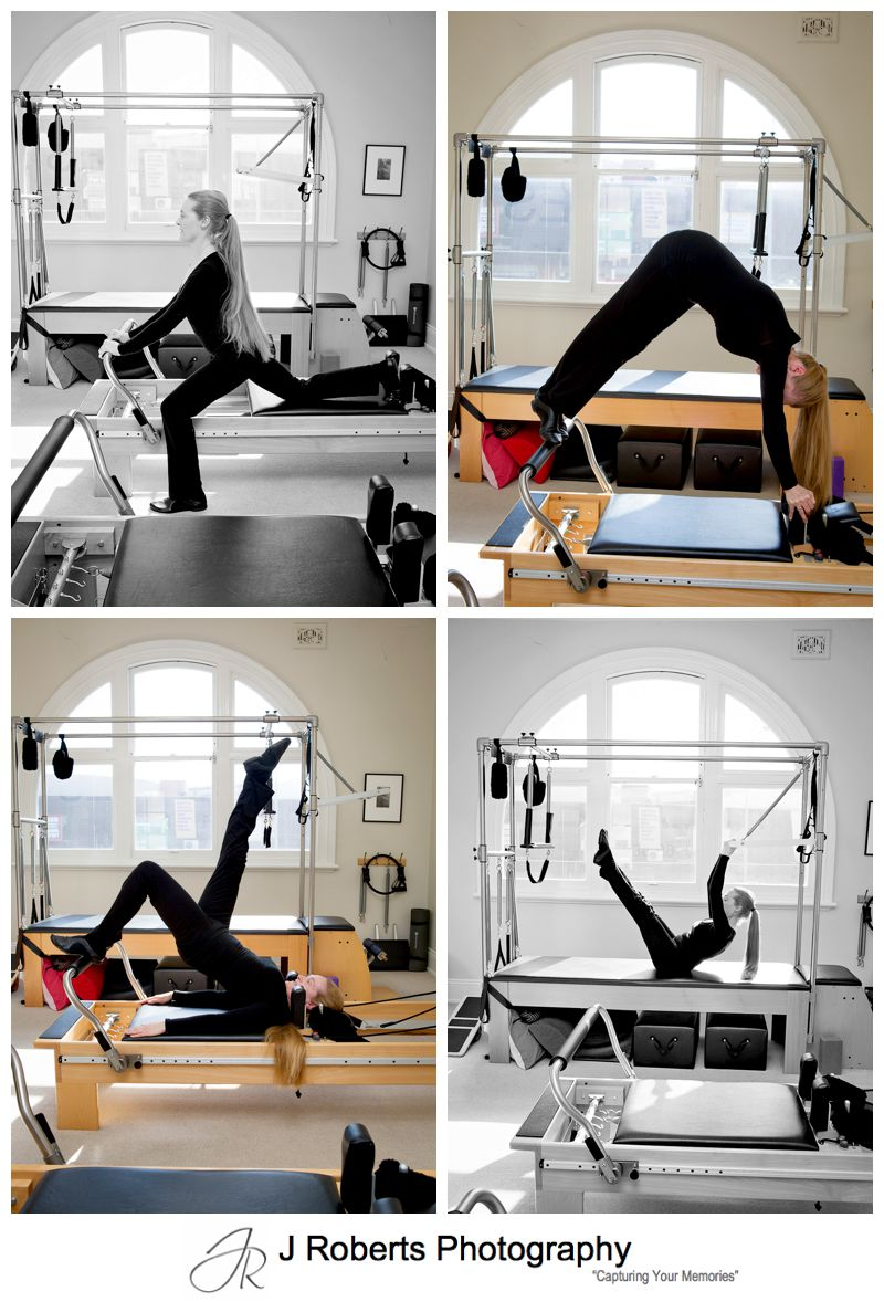 Professional Profile and Website Photography for Mosman Pilates