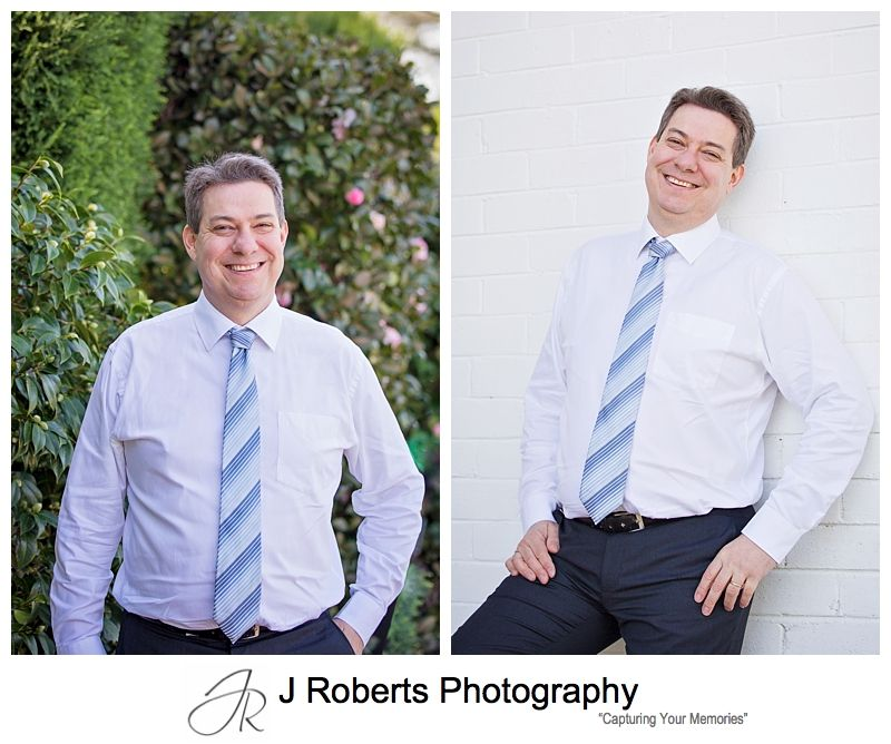 Social Media Headstots to present the right image Coporate Look for Linked In Headshots