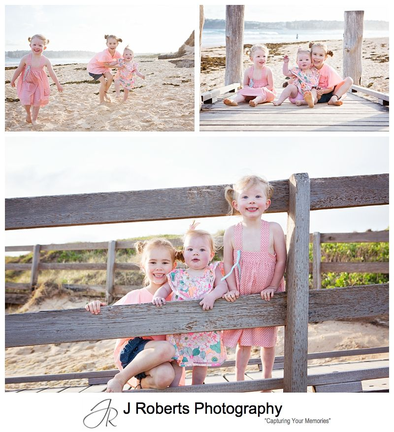 Summer Mini Family Portrait Photography Sydney at Long Reef Beach