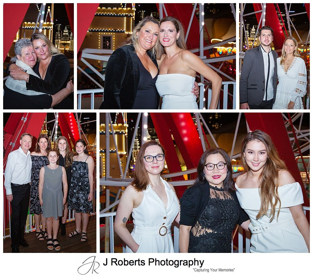 Surprised Birthday Party Photography Sydney at Luna Park Palais 50th Birthday Party