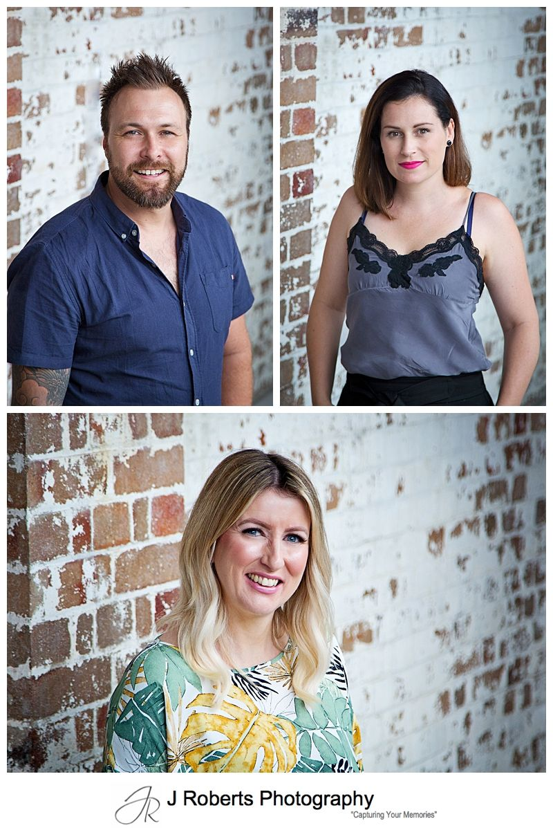 Sydney Corporate Headshot Photographer Evolve Hair Concepts at The Tramsheds Forest Lodge