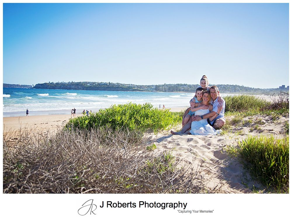 Sydney Family Portrait Photographer Fun Summer Afternoon Session at Long Reef Beach