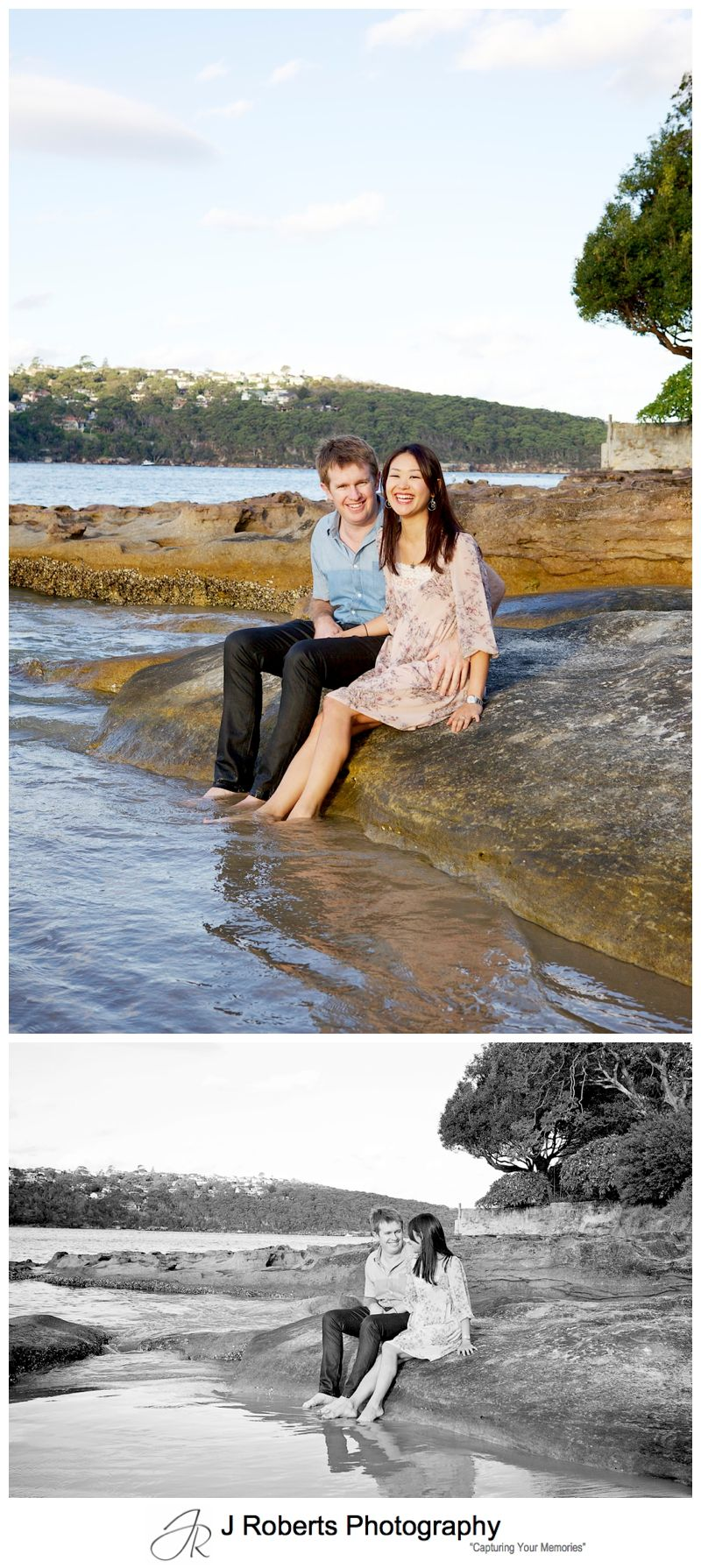 Sydney Family Portrait Photographer on location at Chinaman's Beach Mosman