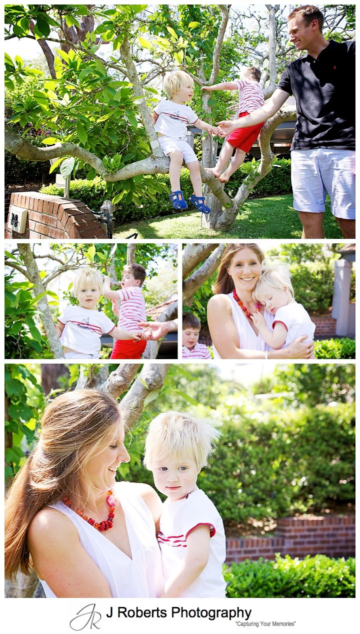 Sydney Family Portrait Photography on location in family home Killara