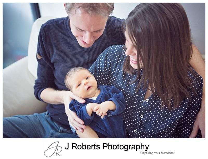 Sydney Newborn Baby Portrait Photographer Baby Portraits in the Family Home Northern Sydney
