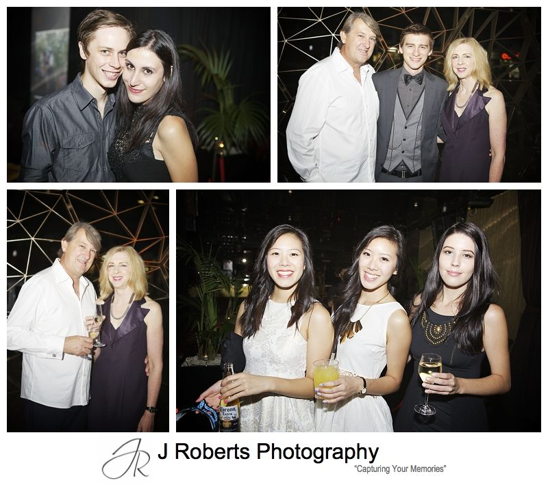 Sydney party photography at goldfish kings cross