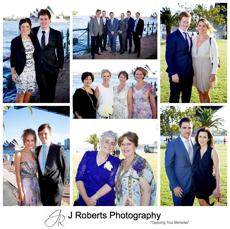 Sydney Wedding Photographers Ceremony at Bradfield Park under the Sydney Harbour Bridge and Aqua Dining Wedding Reception