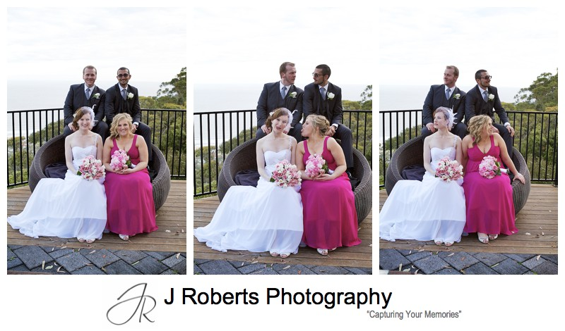 Bridal party photography - sydney wedding photography