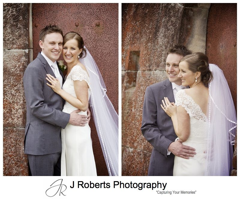 Portraits of a bridal couple - sydney wedding photography