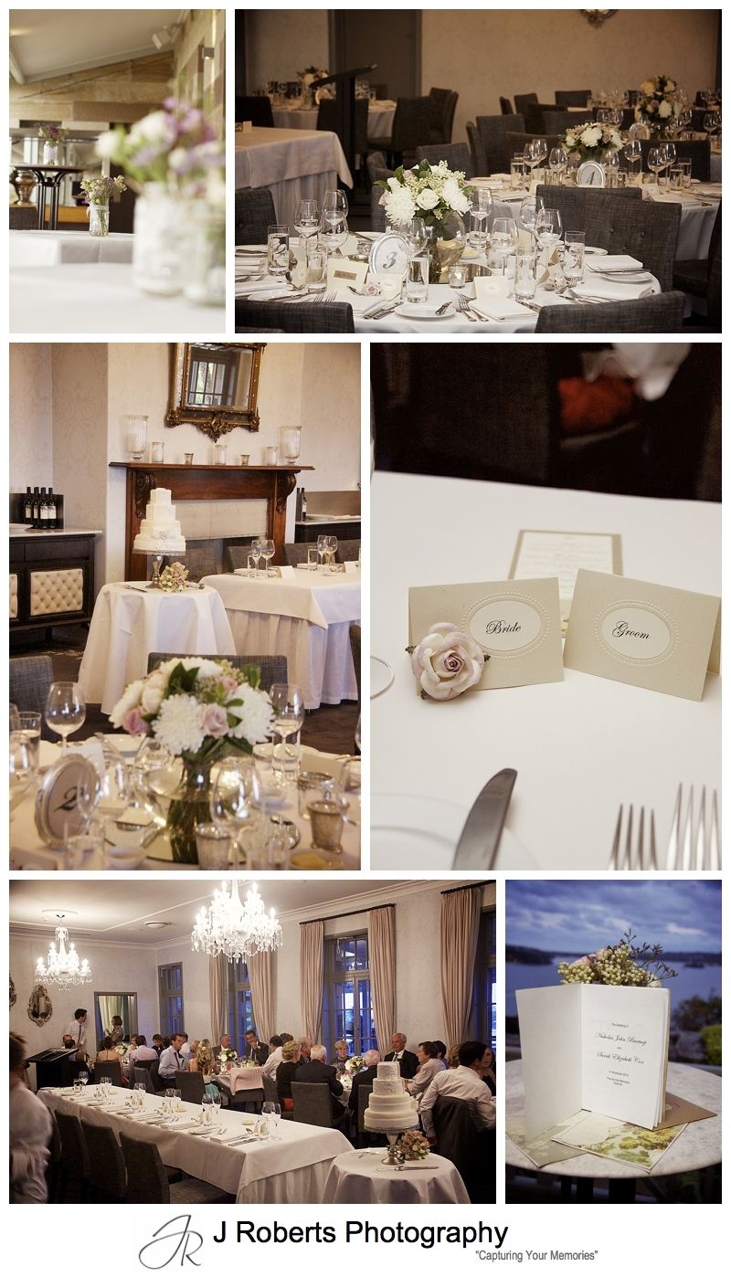 Vintage inspired wedding reception at The Tea Rooms Gunners' Barracks - sydney wedding photography