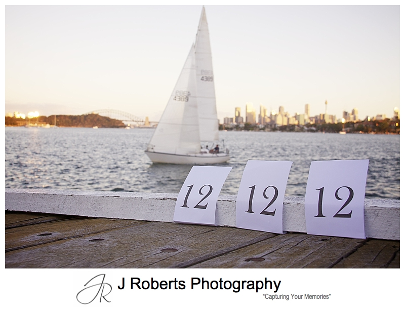 Sunset from The Deckhouse Woolwich on 12 12 12 - sydney wedding photographer