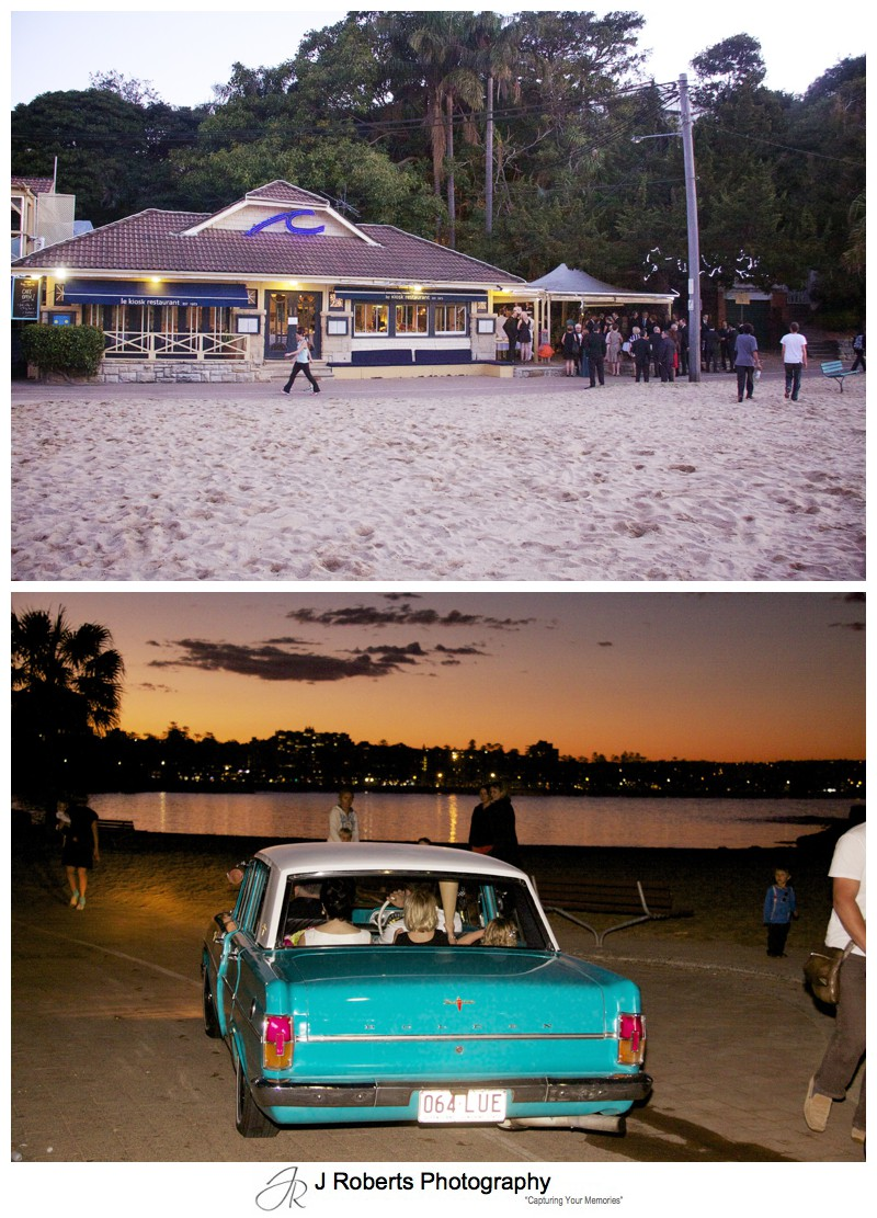 Le Kiosk Shelly Beach Manly Wedding Ceremony - sydney wedding photography