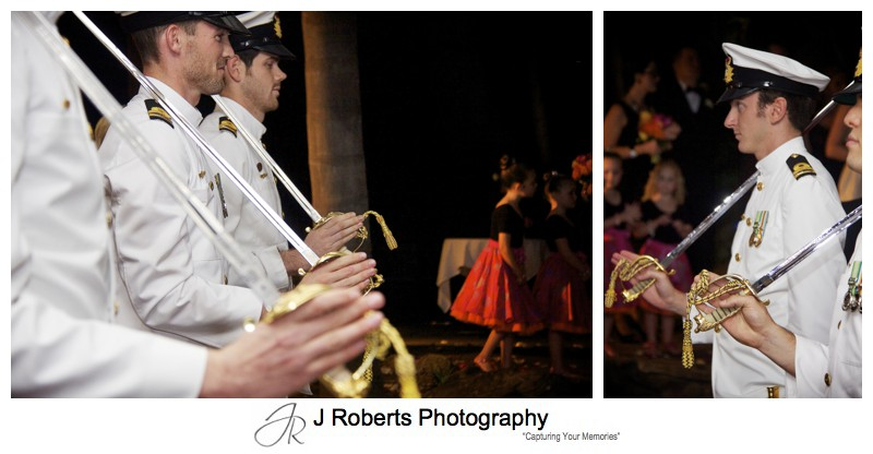 Royal Australian Navy Honour Guard for Wedding - sydney wedding photography