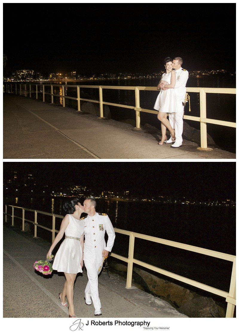 Naval Office and his new bride wedding portraits - sydney wedding photography