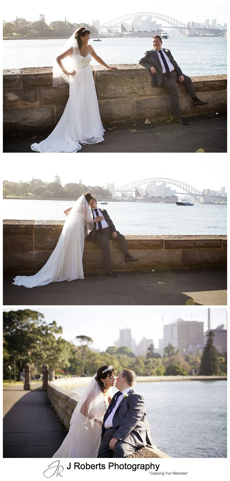 Bride and groom farm cove sydney - sydney wedding photography