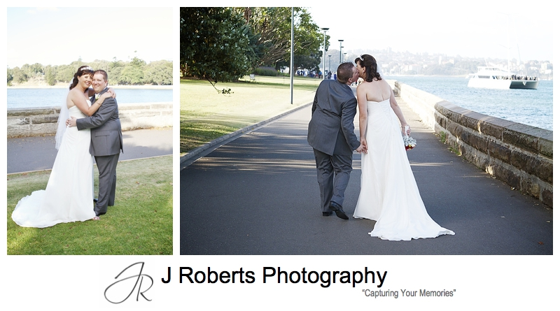 wedding portraits royal botanic gardens sydney - sydney wedding photography