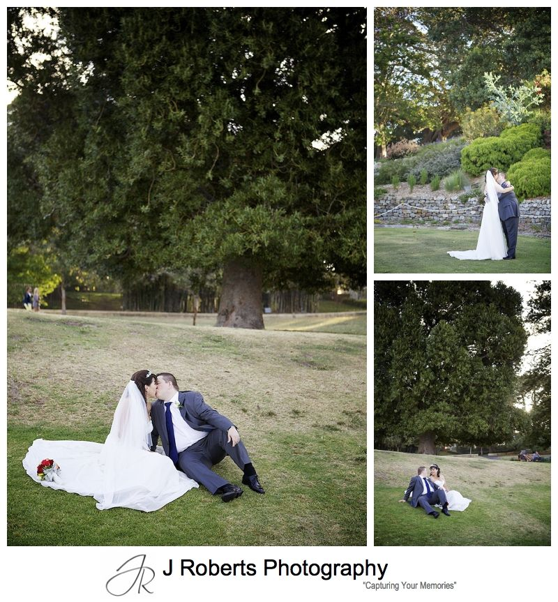 Couple in the royal botanic gardens sydney - sydney wedding photography