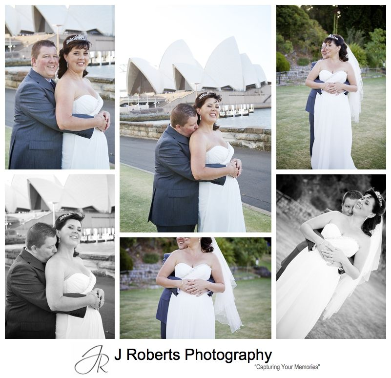 Bridal portraits sydney opera house - sydney wedding photography