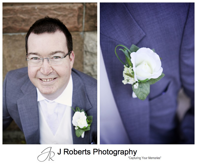 Portraits of the groom - sydney wedding photography