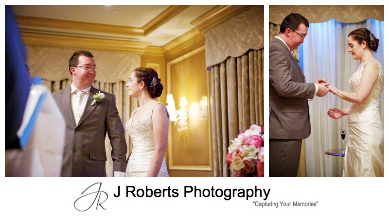 Wedding vows - sydney wedding photography