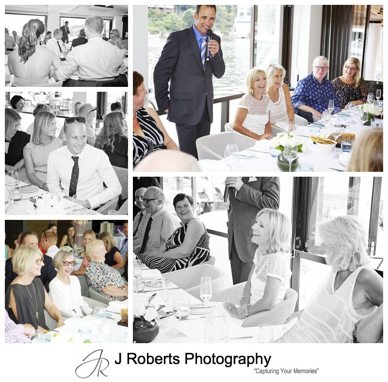 Wedding Celebration Photography Sydney Ormeggio Restaurant The Spit