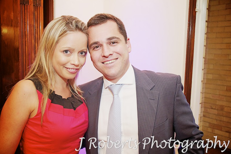 glamorous guests at wedding - wedding photography sydney