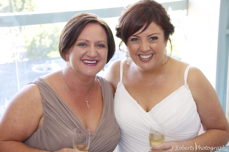 Bride with her best friend - wedding photography sydney