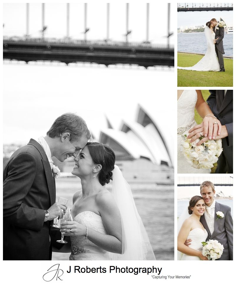 Bridal portraits Blues Point = sydney wedding photography