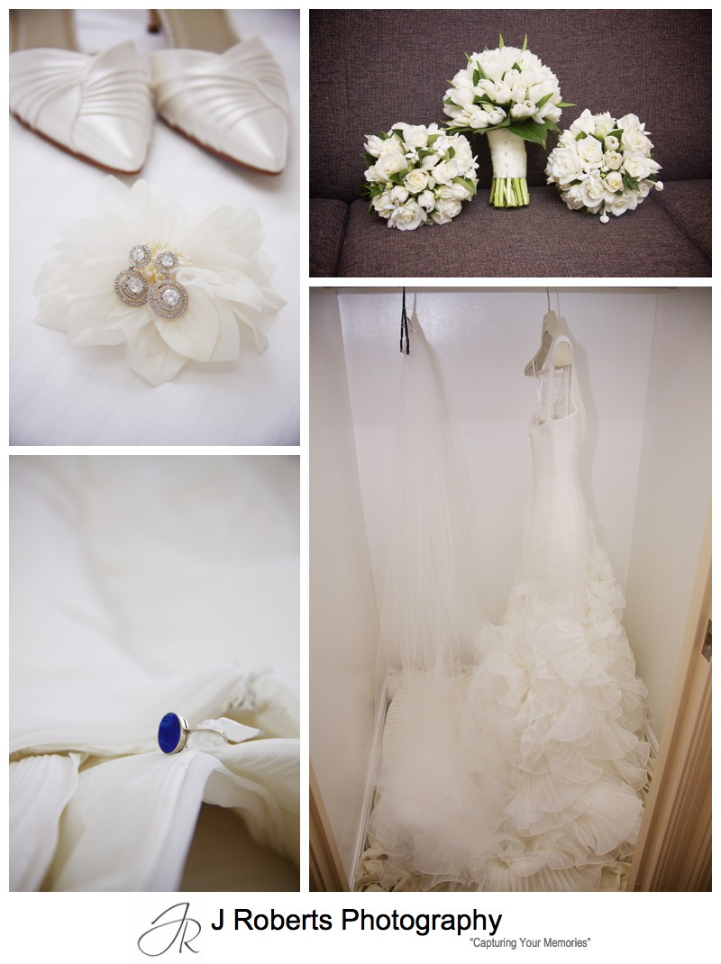 Brides wedding details - wedding photography sydney