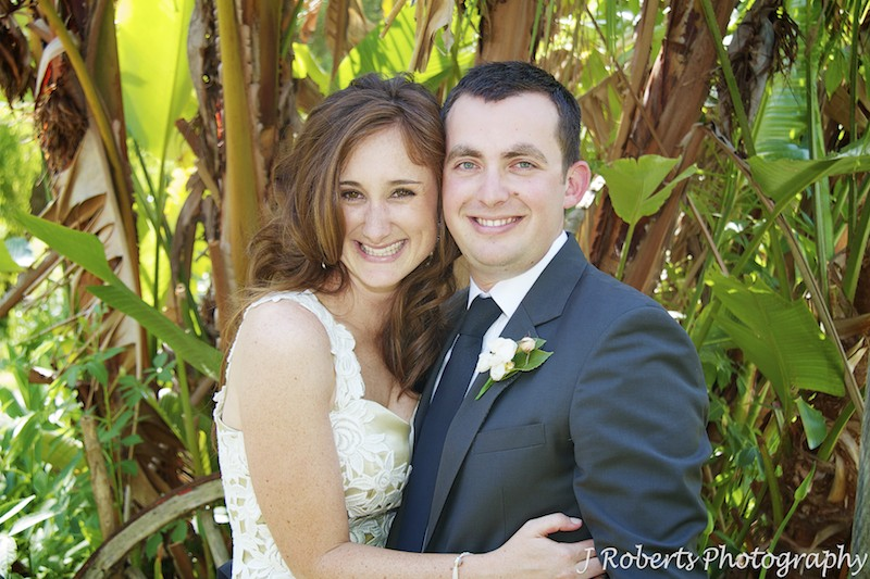 Bride and groom portrait  - wedding photography sydney