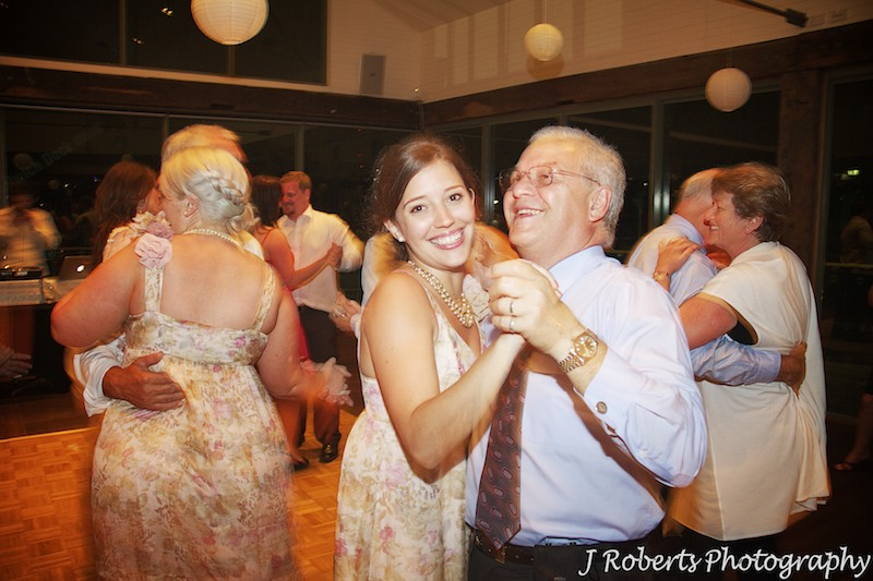 Guests dancing at wedding - wedding photography sydney