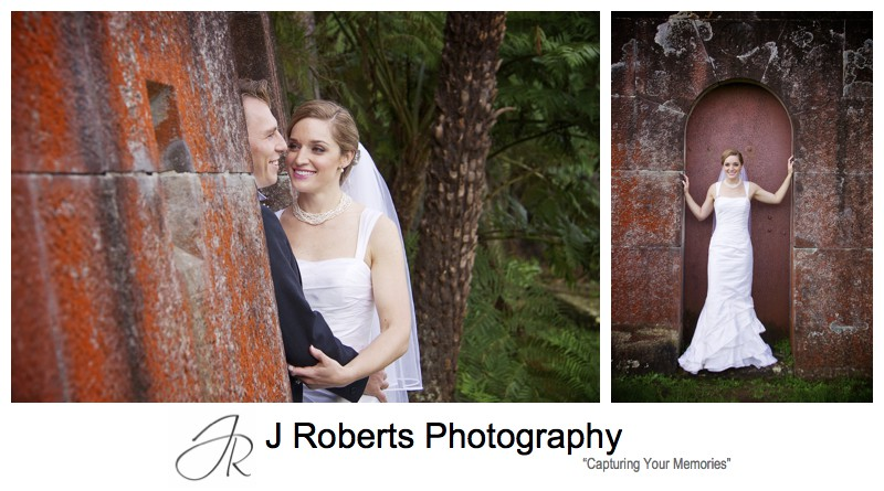 Wedding portraits at Gunners Barracks - wedding photography sydney
