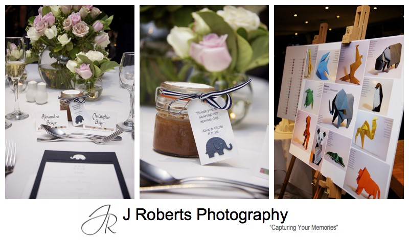 details with animal theme Animal Themed Wedding