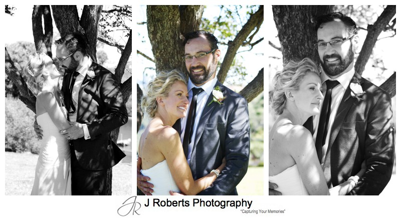 Portraits of a bridal couple - wedding photography sydney