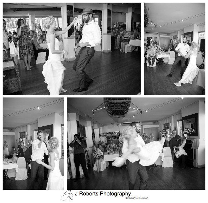 Funky bridal waltz - wedding photography sydney