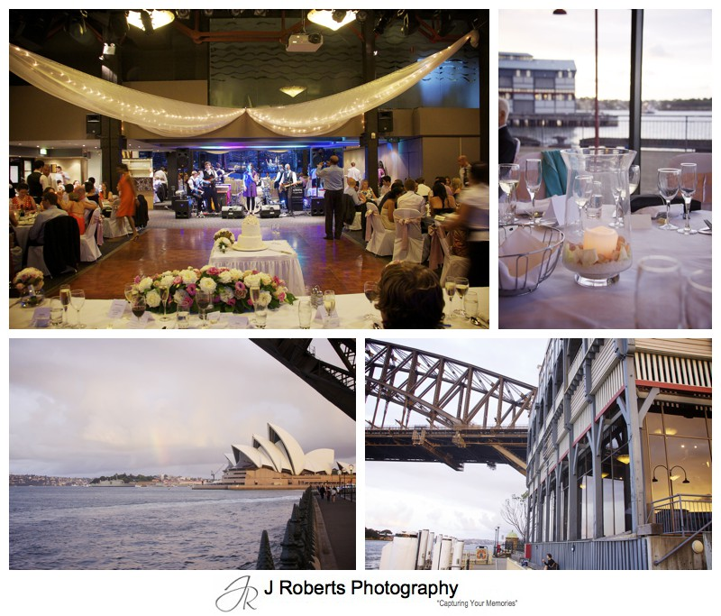 Wedding reception at Waters Edge Sydney - wedding photography sydney