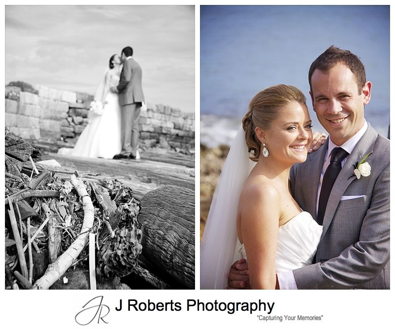 Portraits of wedding couple - wedding photography sydney