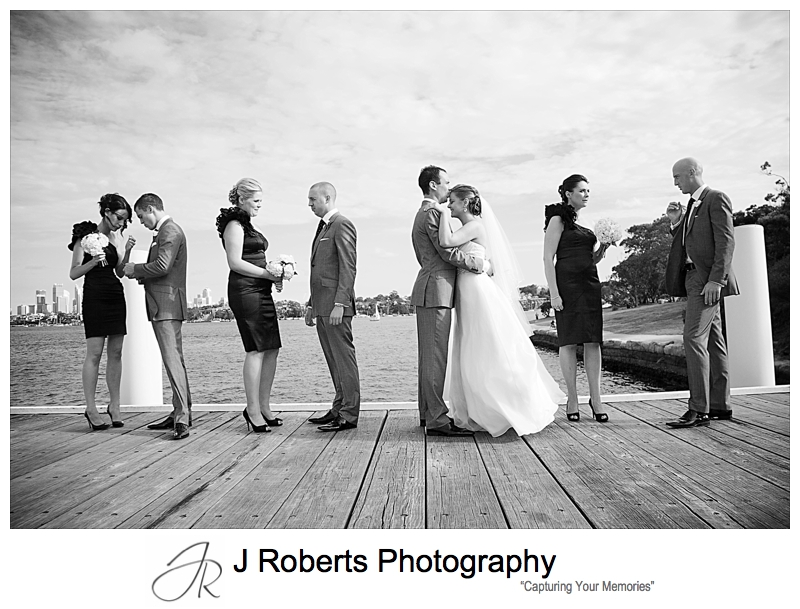 Wedding photography on Woolwich Dock - wedding photography sydney