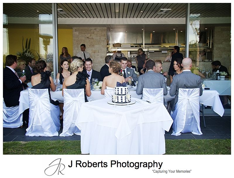Wedding reception at Cucinetta Woolwich - wedding photography sydney