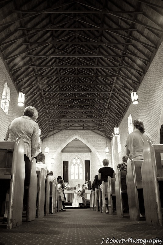 St Charles Church Ryde - wedding photography sydney