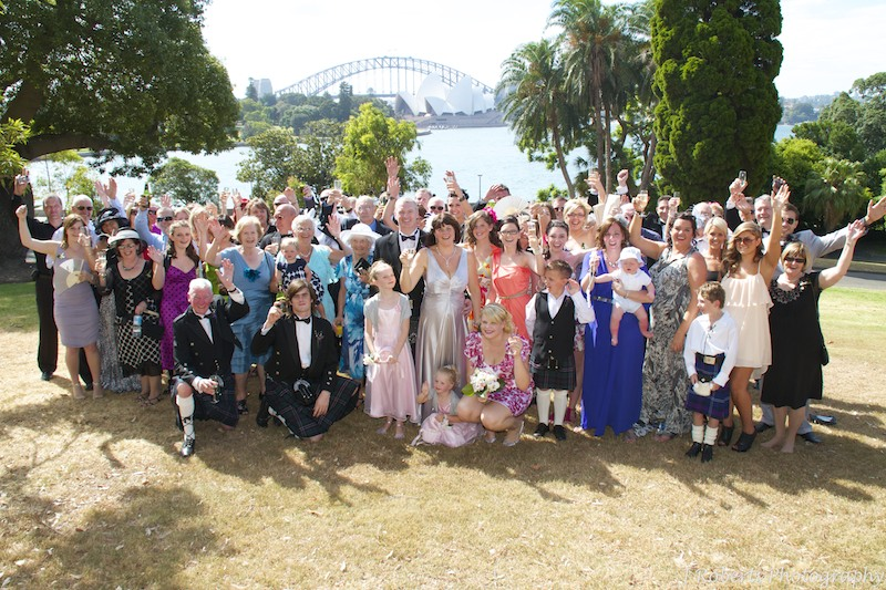 Group photograph - wedding photography sydney