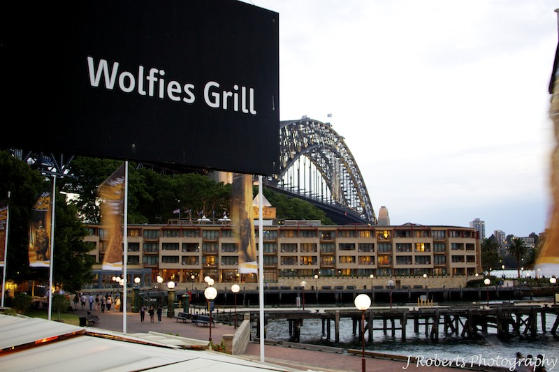Wolfies Grill Wedding Reception - wedding photography sydney