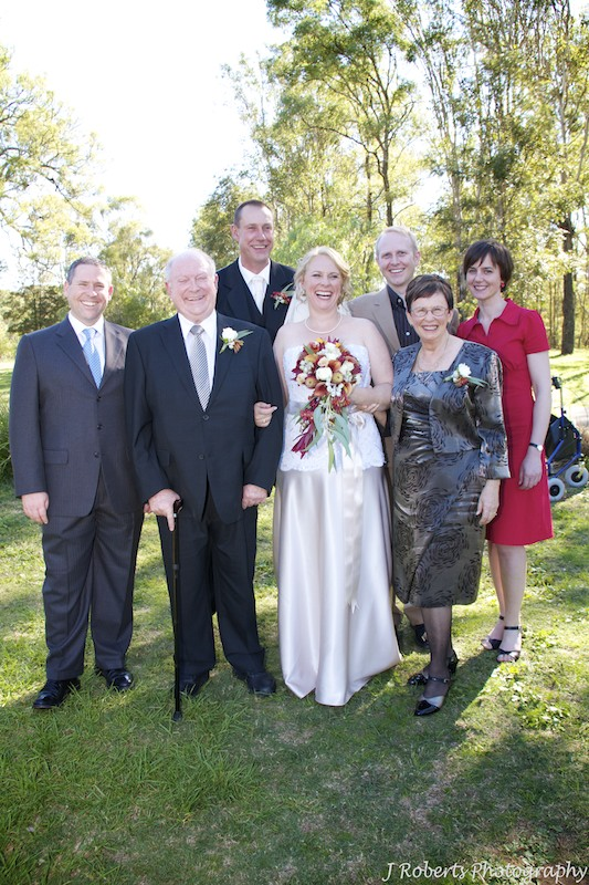 Family photograph - wedding photography sydney