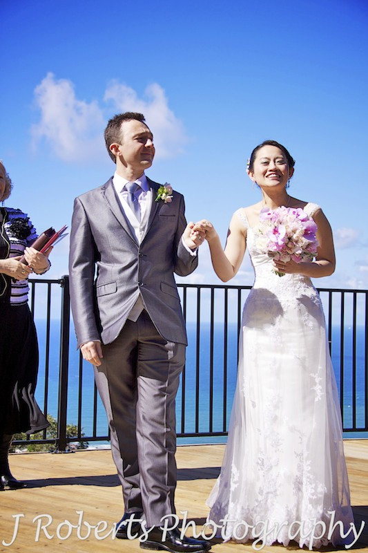 Congratulations Mr & Mrs - wedding photography sydney
