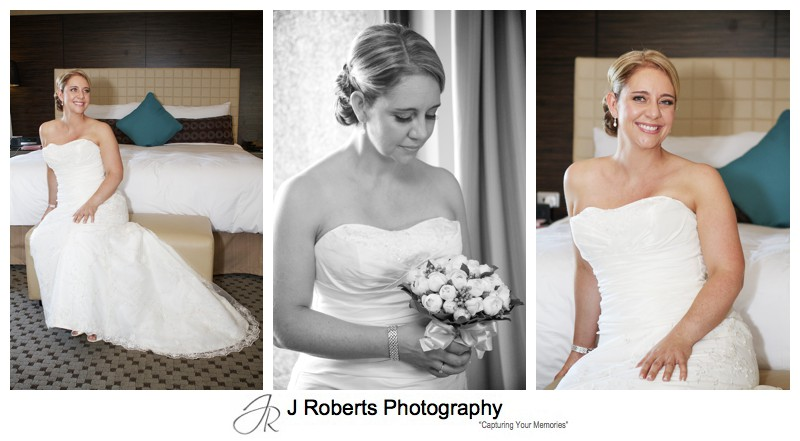 Beautiful bride in Four Seasons Sydney - wedding photography sydney